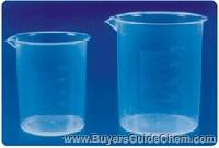 Beaker, plastic, 500 ml