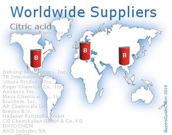 Citric acid | 77-92-9 supplier and manufacturer